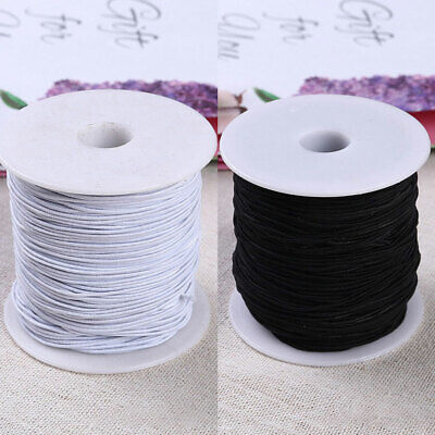 100m Strong Stretch Elastic Cord Wire Rope Bracelet Necklace String Bead 1mm