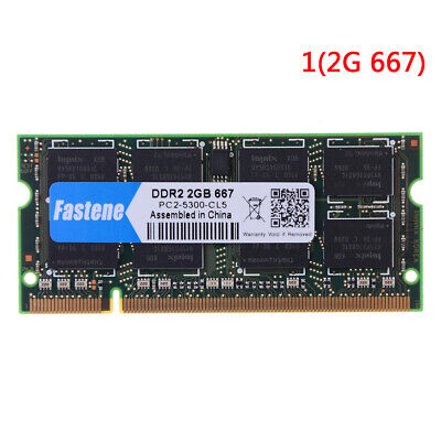 Laptop Notebook 2GB DDR2 PC2-6400 667MHZ 800MHZ RAM memory FD