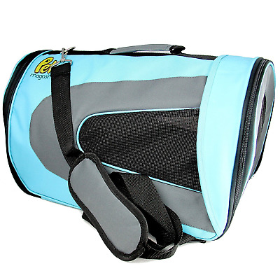 Pet Magasin Soft-Sided Pet Travel Carrier for Cats, Small Dogs, Puppies and Pets