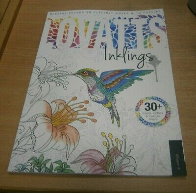 Lovatts Inklings magazine Volume 8 Mindful Colouring with Puzzles