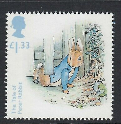 Beatrix   Potter - Peter Rabbit  Illustrated On 2016  Gb  Unmounted Mint Stamp