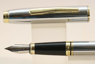 Cross Coventry Medalist Medium Fountain Pen with Gold Trim