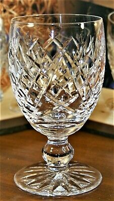 Waterford Crystal DONEGAL Water Goblet Glasses 5 1/4in 602/583