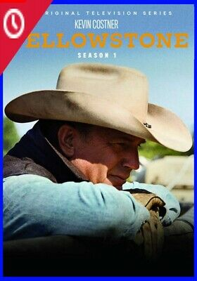 NEW,Yellowstone TV Series Complete First 1st Season 1 One 4-DISC DVD SET