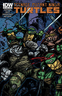 Teenage Mutant Ninja Turtles #40 1St Print Idw 2011 Cover B Eastman