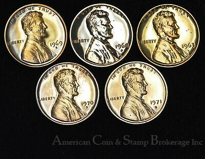 1968 S Lincoln Memorial Cent DISCOUNTED PROOF Penny US Mint Coin Imperfect