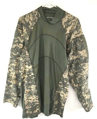Digital ACU Army Combat Shirt, Military ACS, USGI, Flame Resistant, 2XL DEFECT