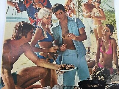Vintage Playboy Magazine Ad 1960s What Sort of Man Reads 26333