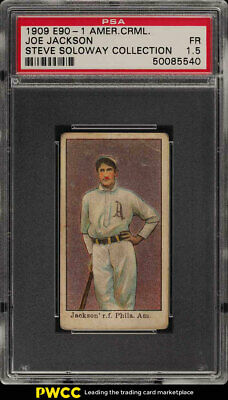 Shoeless Joe Jackson 1919 21 W514 Strip Card Baseball
