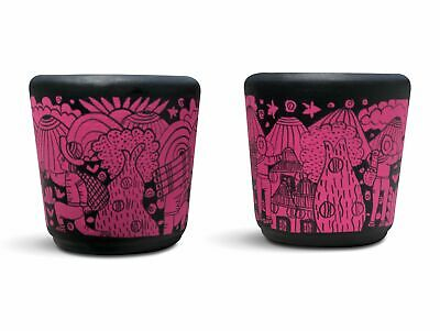 Handmade Tequila or Mezcal Shot Glasses Set of 2 PINK