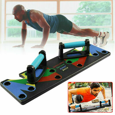 Push up Rack Board Men Women 9 System Comprehensive Fitness Exercise Workout