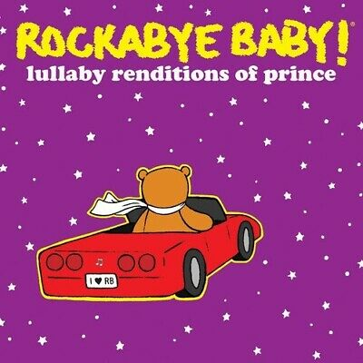ROCKABYE BABY Lullaby Renditions Of PRINCE RARE KIDS CD