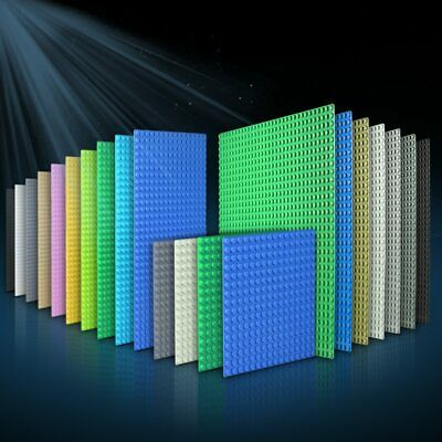 Classic Green Baseplate 16x16 & 32x32 dots for Brick Building Block Toy fit Lego