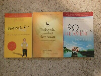Lot  Of 3 Trade Paperbacks About  Heaven