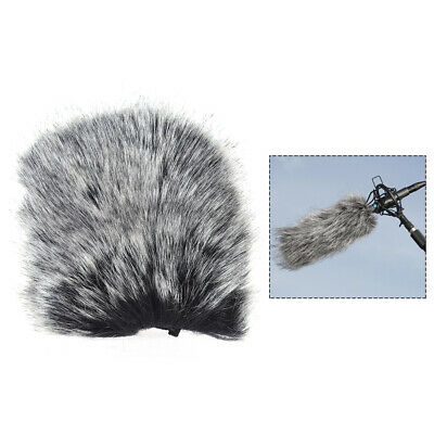M Size Microphone Furry Windscreen Windshield Cover Muff fr SHENGGU WP 9*5cm MIC