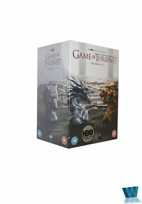 Game of Thrones 1-7 34DVD Boxed Complete Series and Season 7 (5VCDs) CDs A