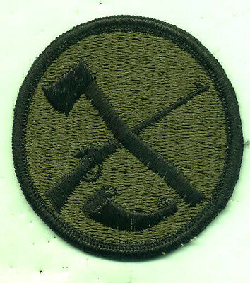 US Army National Guard West Virginia Subdued Patch