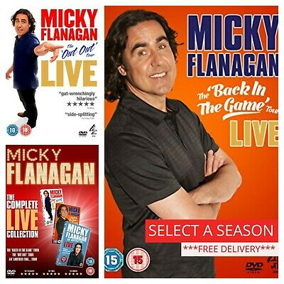 Micky Flanagan Stand Up DVD Box Set Complete Collections Comedy Live Tour