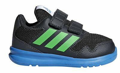 28709a6af Adidas Performance Children Sport Shoe Altarun Cf I Black Blue Green