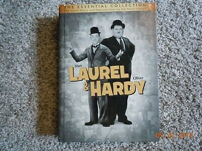 Laurel and Hardy Essential Collection on 10 DVD's