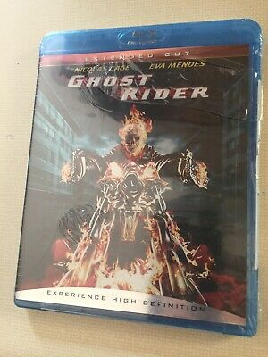 Ghost Rider: Extended Cut (Blu-Ray Movie/Disc; 2007 Nicolas Cage) Factory Sealed