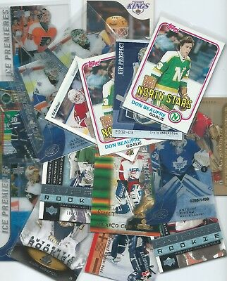 RC - GOALIE Rookie Cards U-PICK-LIST (SPA Finest Future Watch Young Guns) - NHL