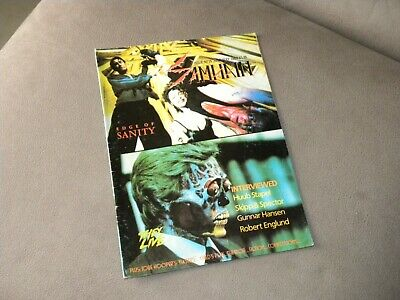Sam Hain – Issue 15 – Vintage Horror Magazine – Tobe Hooper, Gunnar Hansen