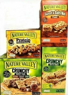 Nature Valley Protein Bars Sweet & Salty Peanut,Oat Honey, Maple Syrup,Chocolate