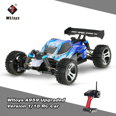 New Wltoys A959 Updated Version A959 1:18 4WD RC Car Highspeed Off-Road Car K1W9
