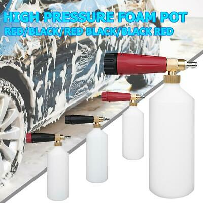 Foam Gun Cannon 1/4 Quick Release Jet Wash Pressure Washer Snow Foam Lance Kits