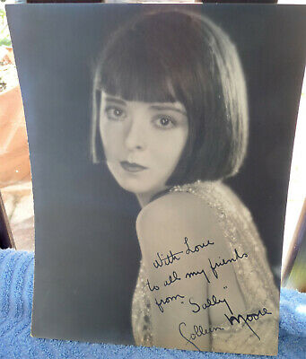 Colleen Moore Signed 1926 Letter Photo Silent Film Actress Twinkletoes Dollhouse Movies Entertainment Memorabilia
