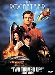The Rocketeer DVD, Bill Campbell, Jennifer Connelly, Alan Arkin, Timothy Dalton,