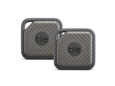 Tile Sport Key Finder, Phone Finder, Anything Finder - Graphite, Pack Of 2
