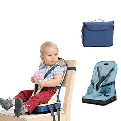 Baby Toddler Portable Dining High Chair Travel Foldable Booster Seat Feeding L