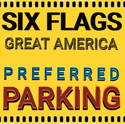 Six Flags Great America  & Hurricane Harbor Preferred Parking -Save $15 Now =$30