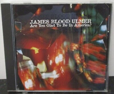 JAMES BLOOD ULMER - Are You Glad To Be In America - CD ALBUM JAPANESE PRESS