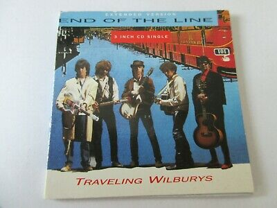 "Traveling Wilburys ‎– End Of The Line Rare 3"" inch cd"
