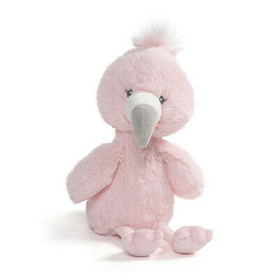 SMALL Gund Baby Toothpick Flamingo Plush FREE Global Shipping