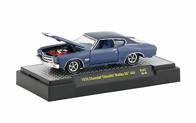 1970 Chevrolet Chevelle Malibu SS 454 - 1:64 - by M2 Machines - Detroit Muscle