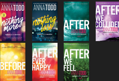 After Series (1-7) by Anna Todd (eBook) PDF ⚡⚡FAST DELIVERY⚡⚡