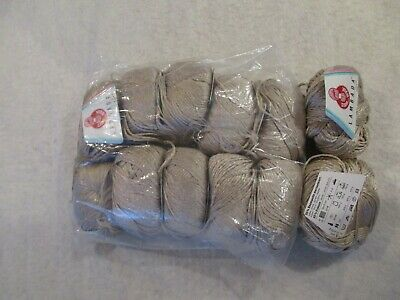 4oz solid-some HTF more yarn for less ONE SUPERSIZE Lily cotton ball~3oz ombre