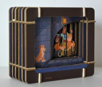 Disney Parks Pirates Of The Caribbean Paper 3D Diorama Set New in Sealed Package