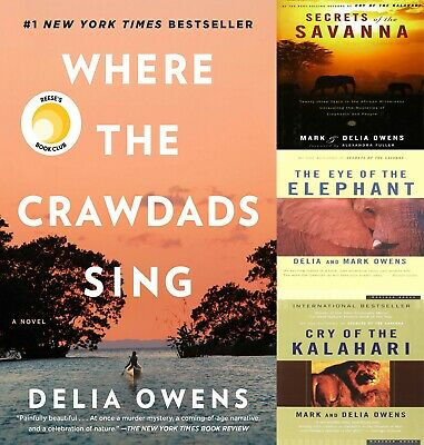 All 4 Delia Owens, Where the Crawdads Sing by Delia Owens 2018 PDF Fast Delivery