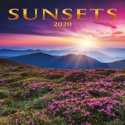2020 Sunsets Wall Calendar,  by Lang Companies