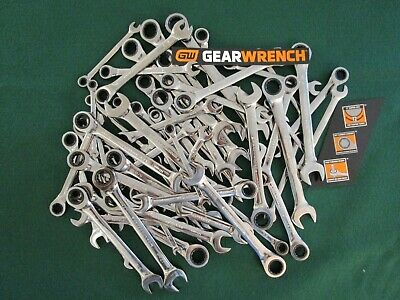 GearWrench Ratcheting Wrench  Metric SAE .. Ratchet Wrench .. Choose Size .. NEW