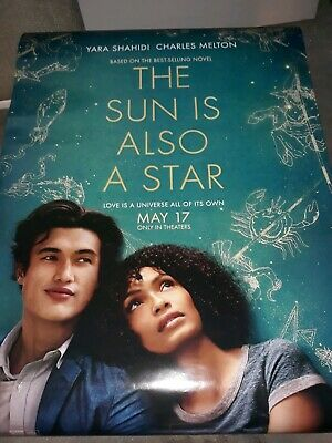 THE SUN IS ALSO A STAR 27x40 D/S movie poster FREE BONUS GIFT WITH PURCHASE