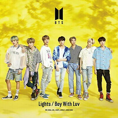BTS-LIGHTS/BOY WITH LUV (TYPE-A)-JAPAN CD+DVD Ltd/Ed D33