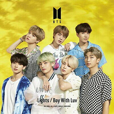 BTS-LIGHTS/BOY WITH LUV (TYPE-C)-JAPAN CD+BOOK Ltd/Ed D33