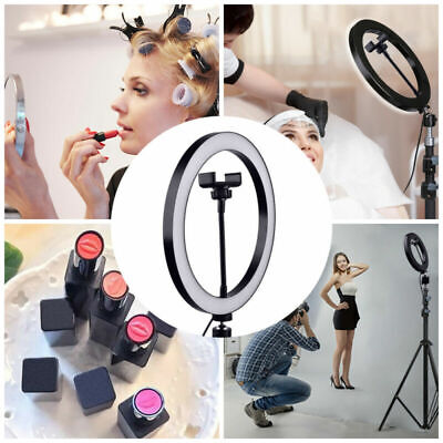 LED Ring Light Round Selfie Lamp For Makeup Live Show Taking Pictures Video Blog