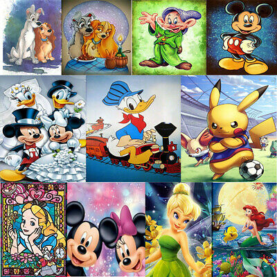 UK Mickey & Friends Full Drill 5D Diamond Embroidery Painting Cross Stitch Craft